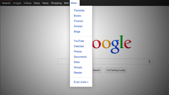 Google Revamps its Navigation Bar Again, Gets Rid of Annoying Dropdown Menu