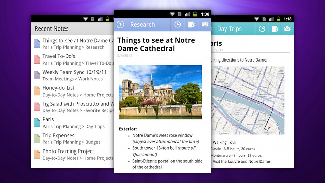 Microsoft OneNote Comes to Android, Syncs with Microsoft SkyDrive