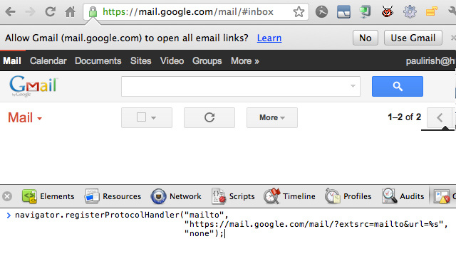 Set Gmail as Your Browser's Default Email Client with a Simple Hack
