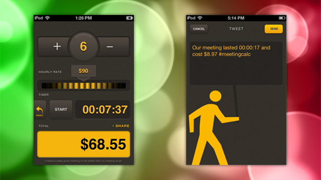 MeetingCalc for iPhone Shows You How Expensive Those Boring Meetings Really Are