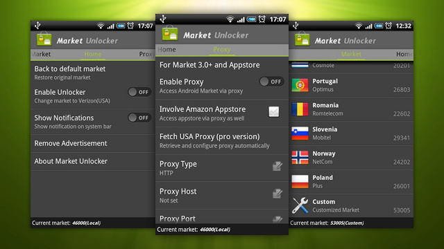 Market Unlocker Makes Location Restricted Market and Amazon Apps Available to Users in Any Country