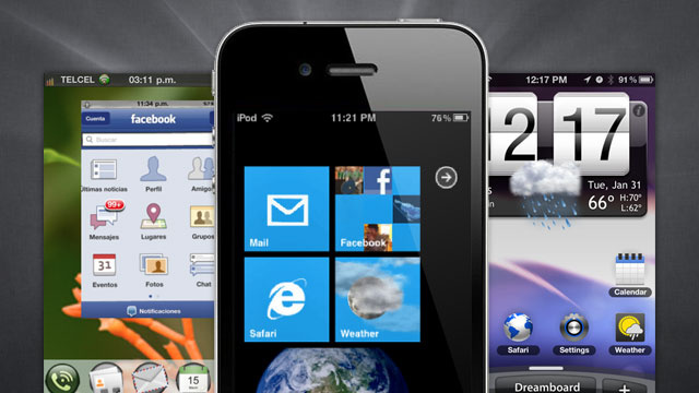 Make Your Jailbroken iPhone Look Like Android, Windows Phone 7, or webOS with These Dreamboard Themes