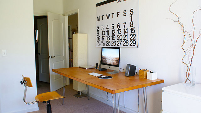 Leftover Space and a Giant Calendar: The Day-to-Day Workspace