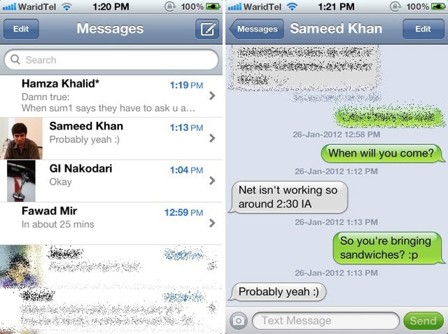 xMessages Adds Timestamps to All Your iPhone's Text Messages