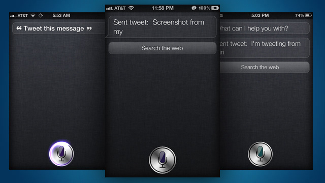 Sireet Adds a Tweet Command to Siri