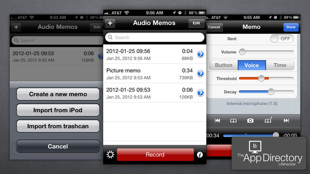 The Best Voice Recording App for iPhone