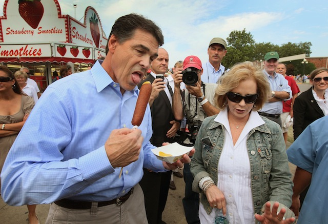 Your Presidential Candidates Eating Phallic Corndogs