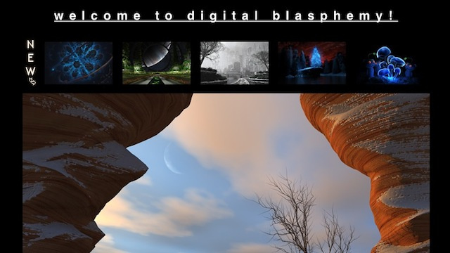 Most Popular Wallpaper Site: Digital Blasphemy