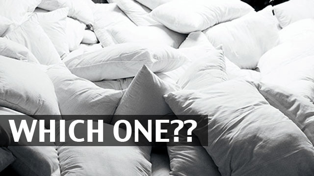 Find the Right Pillow for You Based on Your Sleep Style