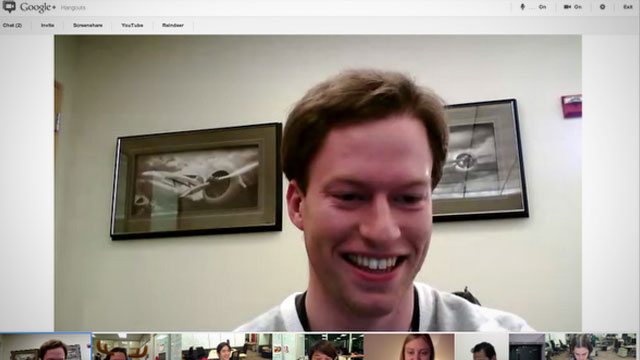 Google+ Hangouts Updates with Bigger Video and Official Release of Screen Sharing