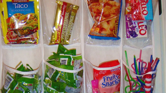 Get Organized and Save Pantry Space with an Over-the-Door Shoe Holder