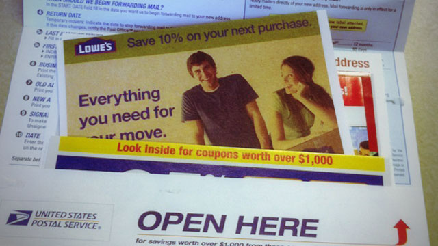 Get a Bunch of Free Discount Coupons by Pretending to Move