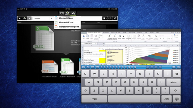 CloudOn Brings Microsoft Office to Your iPad, Complete with Cloud Storage