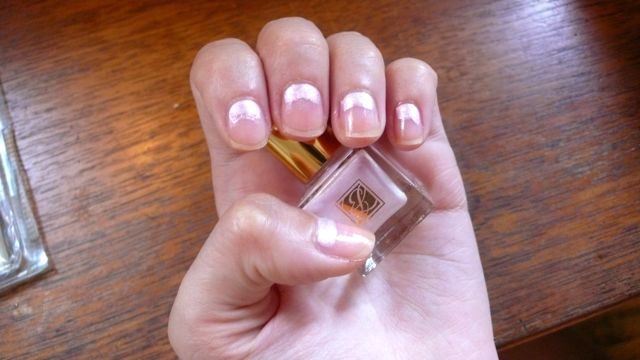 How To Do A 30s-Style Moon Manicure