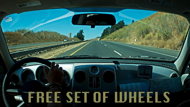 Get a Free Car to Drive on Your Next Road Trip