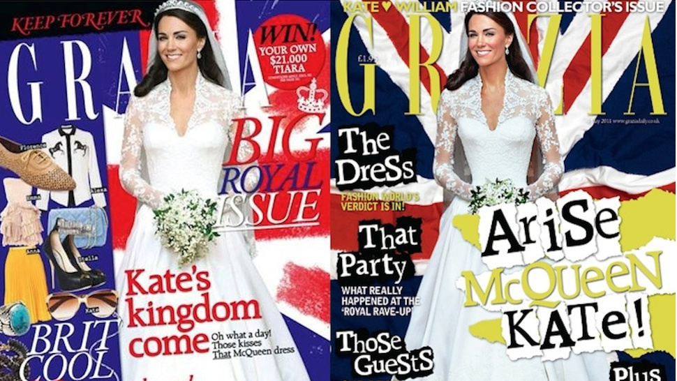 <em>Grazia</em> Fauxpologizes For Shrinking Kate Middleton's Waist