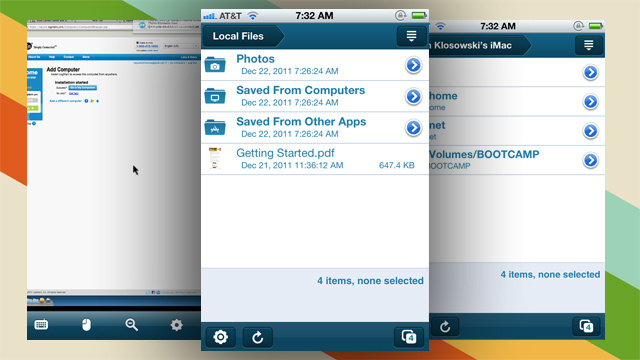 LogMeIn Offers a Free Remote Access App for iOS with the Ability to View, Control, and Access Files