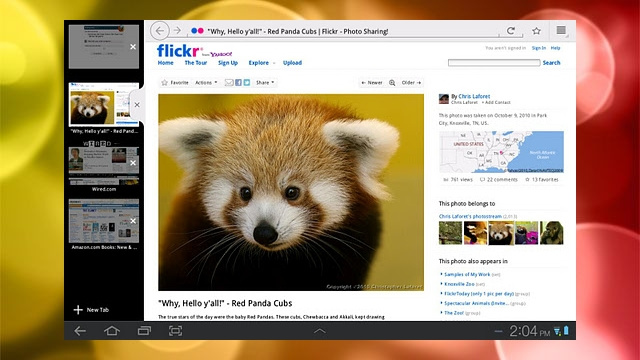 Firefox 9 for Android Adds Tablet Support, Speedier Start-Up