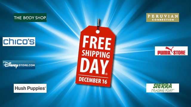 It's Free Shipping Day. Get Guaranteed Christmas Delivery from These Stores Today