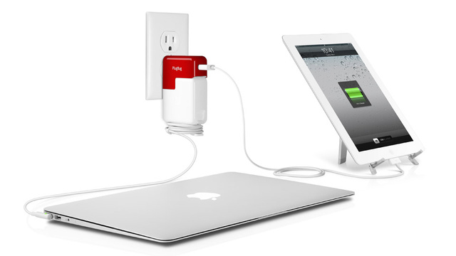 PlugBug Turns a MacBook Charger Into a MacBook/iPhone Charger