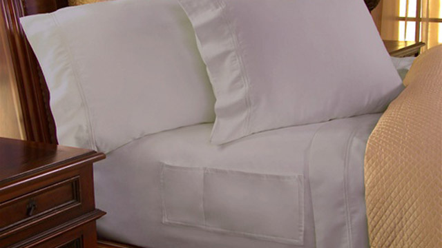 NeatSheets Keep Your Bedside Accessories In Your Sheets