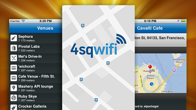 4sqwifi Uses Foursquare to Map Locations that Offer Free Wi-Fi