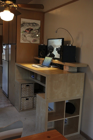 The Reconstructed Bookcase Workspace