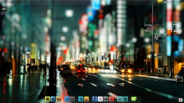 The Shinjuku Streets Desktop