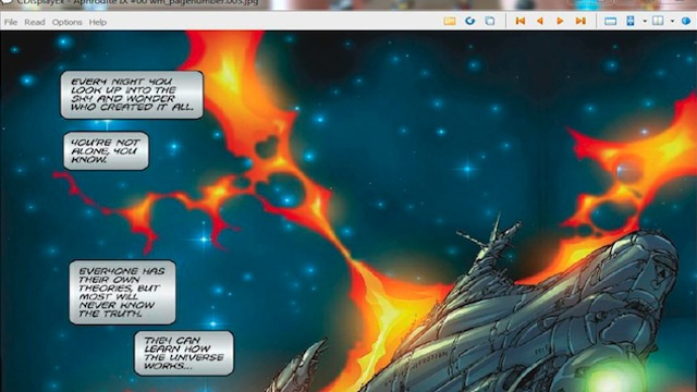 Most Popular Desktop Comic Book Reader: CDisplay/CDisplayEx