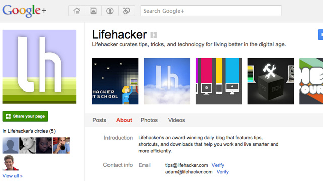 Add Lifehacker and Its Writers to Your Circles on Google+ to Breathe New Life into Your Stream