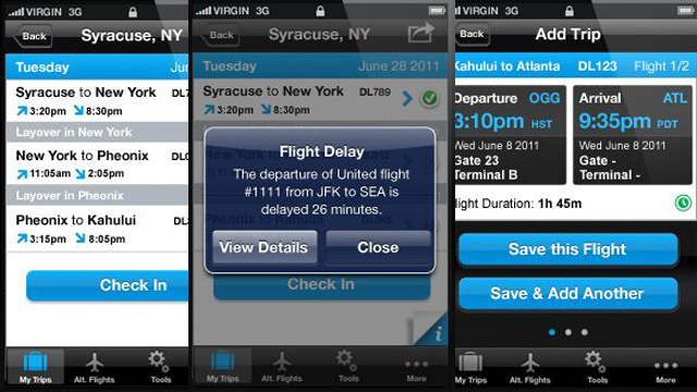 AirAdvocate Sends Push Alerts When Your Flight is Late or Cancelled
