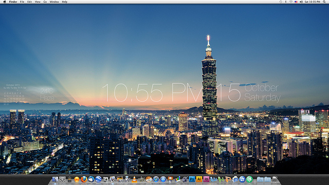 The Taipei Desktop