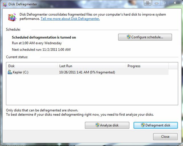 Five Best Disk Defragmentation Tools