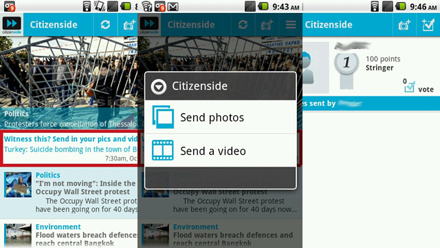 Citizenside Sells Your Newsworthy Photos and Videos