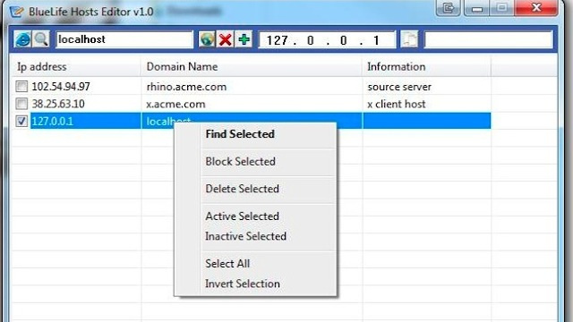 Bluelife Hosts Editor Lets You Find IPs and Block Sites Quickly So You Can Get Back to Work