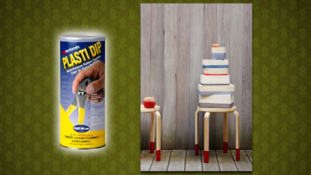 Apply Plasti Dip To Furniture To Protect Your Floors