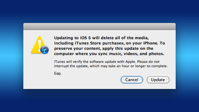 How to Update Your iPhone, iPad, or iPod touch on a New Computer Without Wiping Out All Your Data