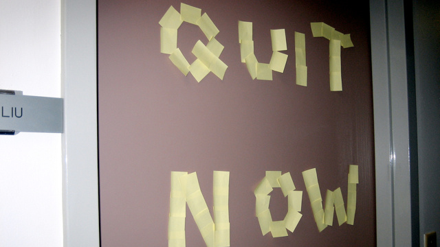 The Upside of Quitting (and Why You Should Do It More Often)