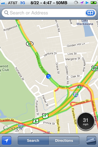 Put a Speedometer in Your iPhone's Google Maps