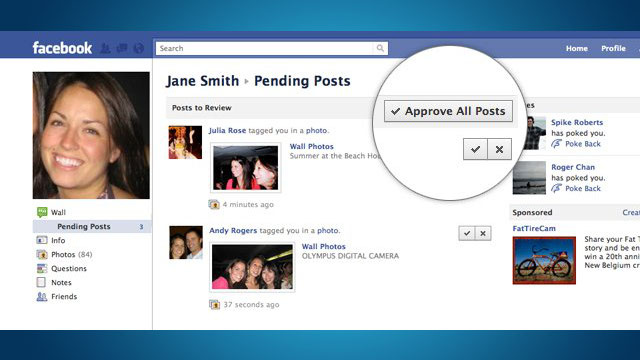 Facebook Adds Photo Tagging Approval, Other Privacy Features