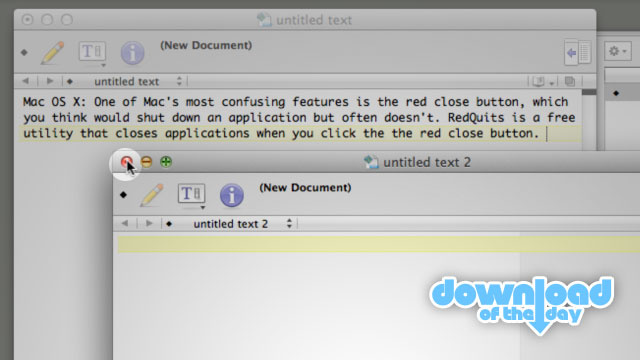RedQuits Makes the Red Close Button on Mac Actually Quit Applications