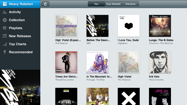 Rdio iPad App Now Available with Streaming and Offline Music Access