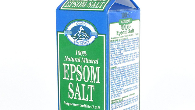 Add Epsom Salts to Water for Homemade Fertilizer