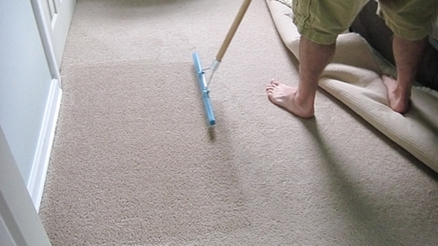 Use a Carpet Rake to Brighten Up Dingy, Old Carpets