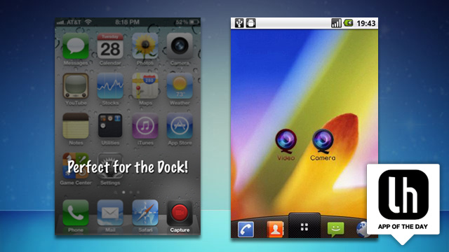 Add an Instant-Record Button to Your Home Screen and Never Miss the Money Shot