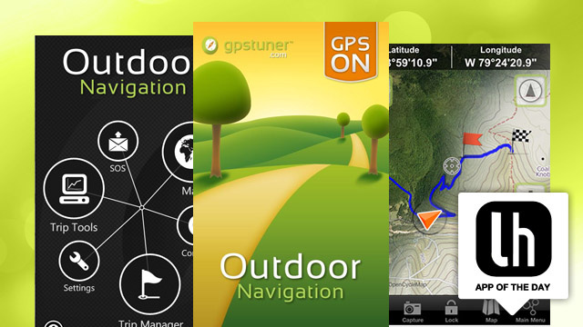 Outdoor Navigation Gets You There on Foot, Bike, or by Car, is the Perfect Outdoors Summer Companion App