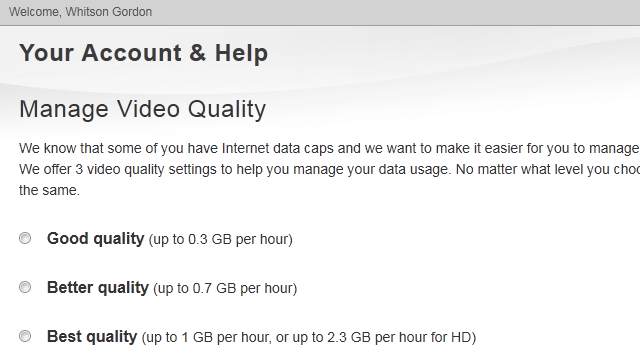 Netflix Adds Video Quality Preferences to Help You Avoid Hitting Your Data Caps