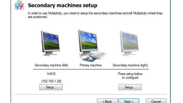 Multiplicity Controls Numerous Windows PCs with a Single Keyboard and Mouse, Is a Last Resort