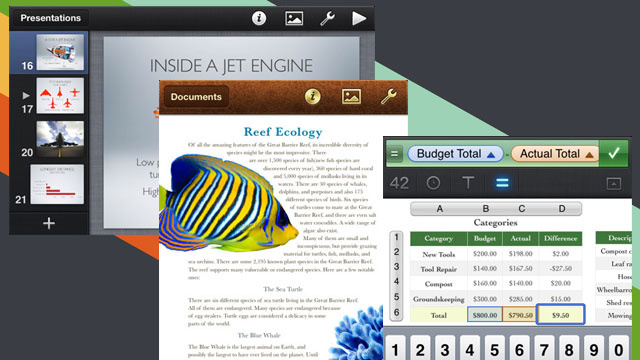 iWork Now Available as Universal iPad, iPhone, and iPod touch Apps