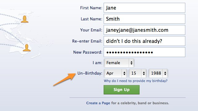 Boost Your Privacy with an Un-Birthday